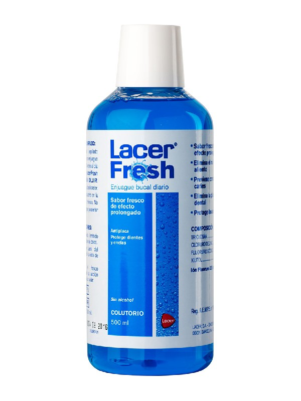 Lacer fresh colutorio diario 500ml