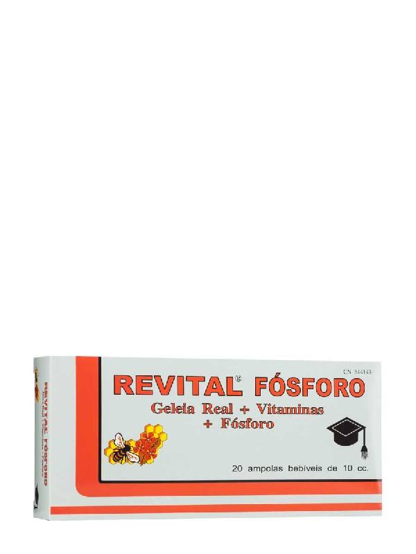 Revital fosforo + vitmaminas 20 ampollas bebibles 2