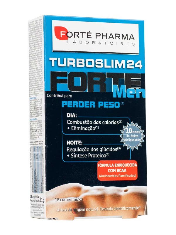 Forte pharma turboslim cronoactive forte men 28 comprimidos