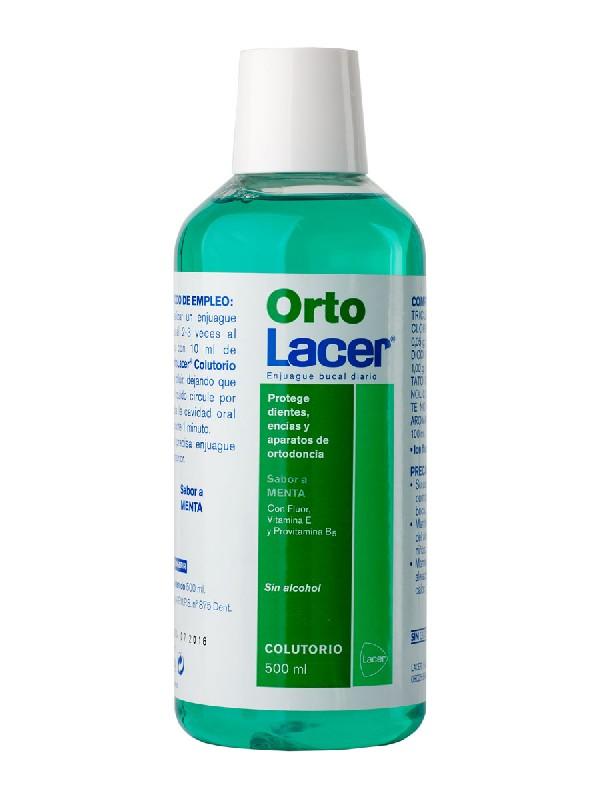 Lacer ortodent colutorio menta fresca 500 ml