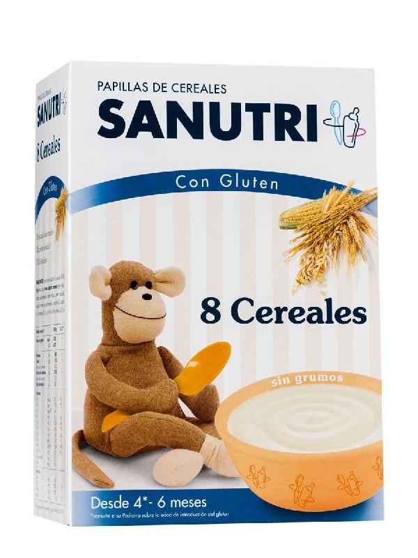 Sandoz papilla 8 cereales 600 g