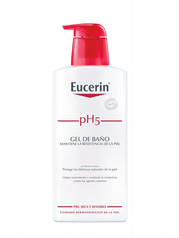 Eucerin gel de baño ph-5 piel sensible 400ml.