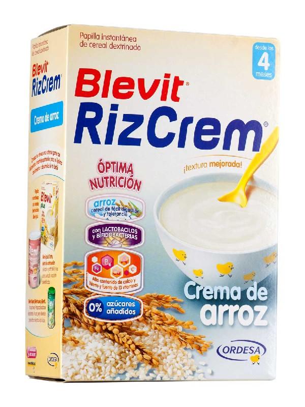 Blevit rizcrem plus crema de arroz 300 g