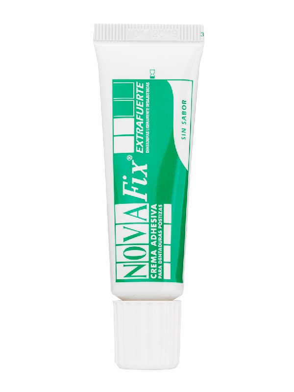 Novafix extra fuerte adhesivo sin sabor 20 gr