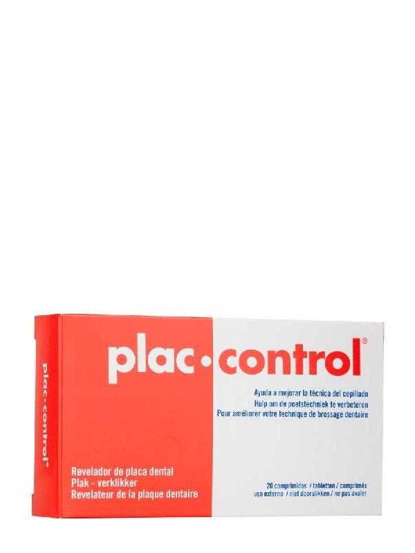 Vitis plac control revelador placa dental 20 comprimidos