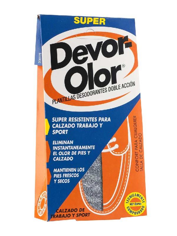 Devor-olor plantillas antiolor super