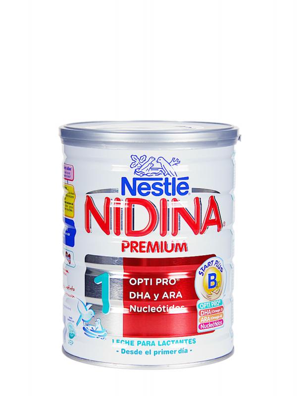 Nidina 1 premium leche de inicio 800 gr