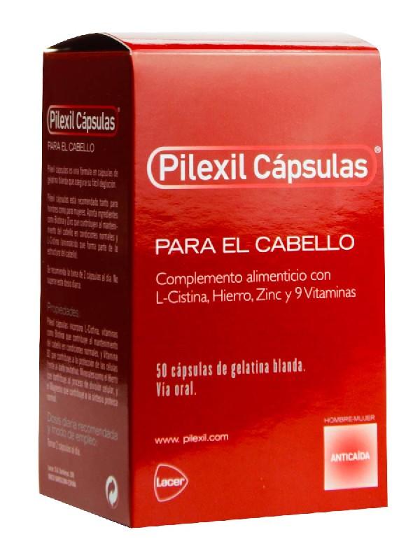 Pilexil complemento nutricional para cabello 50 cápsulas