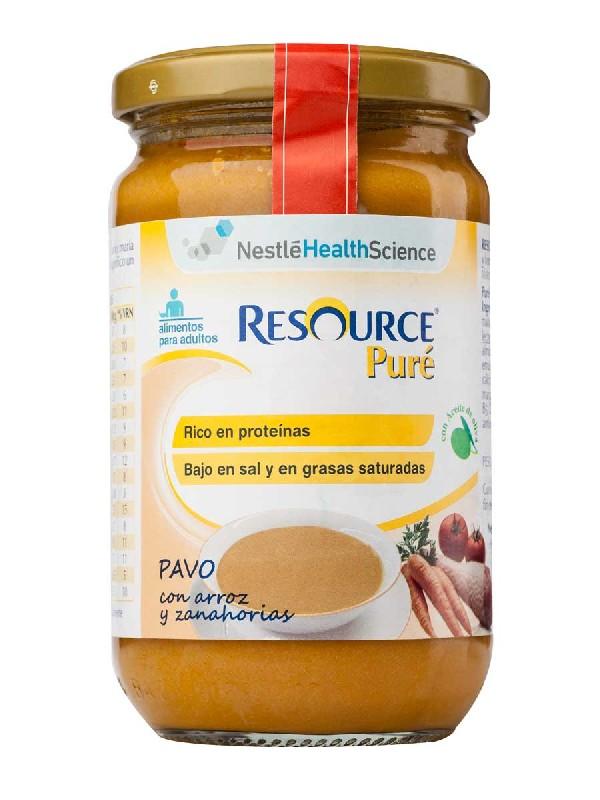 Resource pure de pavo arroz y zanahoria 300 gr