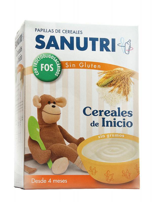 Sandoz papilla cereales sin gluten ef bifidus 600gr comprar a precio en oferta - Cereales sin gluten bebe 3 meses ...