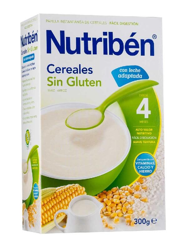 Nutriben cereales sin gluten leche adaptada 300
