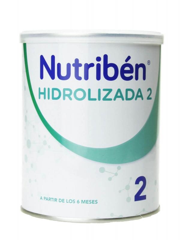 Nutribén hidrolizada 2 leche de continuación 400 gr