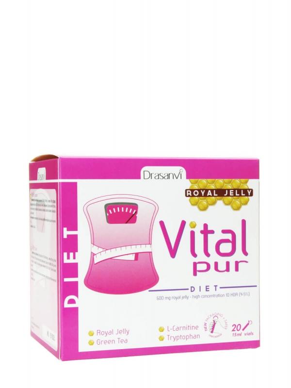 Drasanvi vital pur dieta 20 viales