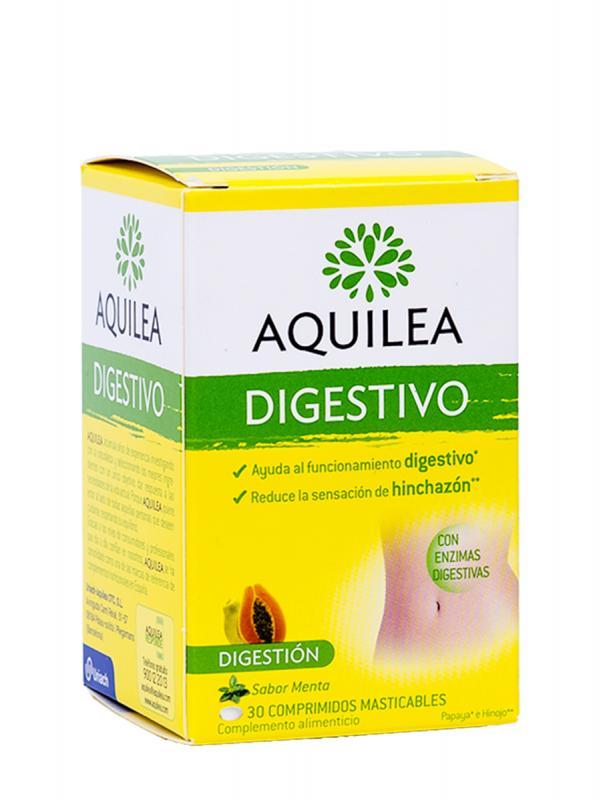 Aquilea digestivo 30 comprimidos masticables