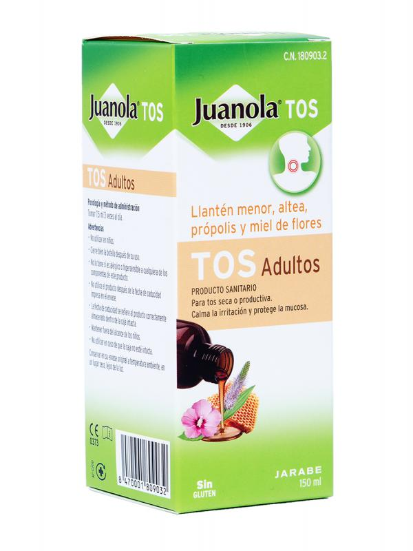 Jarabe para la tos juanola 150ml