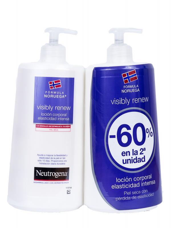 Neutrogena loción corporal elasticidad intensa duplo 750 ml