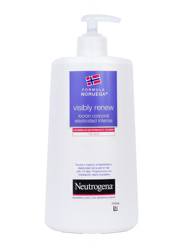 Neutrogena visibly renew loción corporal elasticidad intensa 750 ml