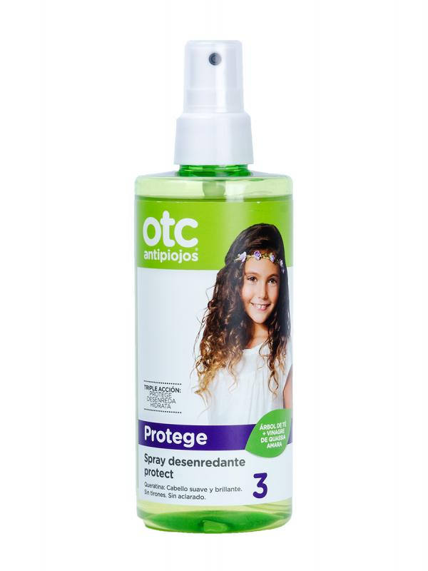 Otc antipiojos spray desenredante protect 250ml