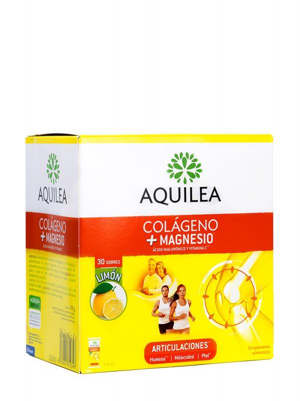 Aquilea colágeno + magnesio articulaciones 30 sobres sabor limón