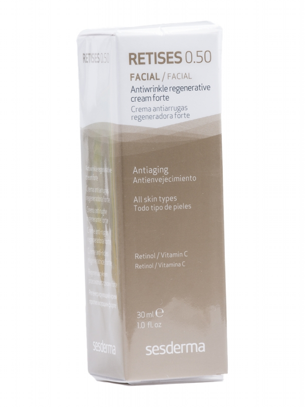 Sesderma retises 0,50% crema antiarrugas regeneradora 30 ml