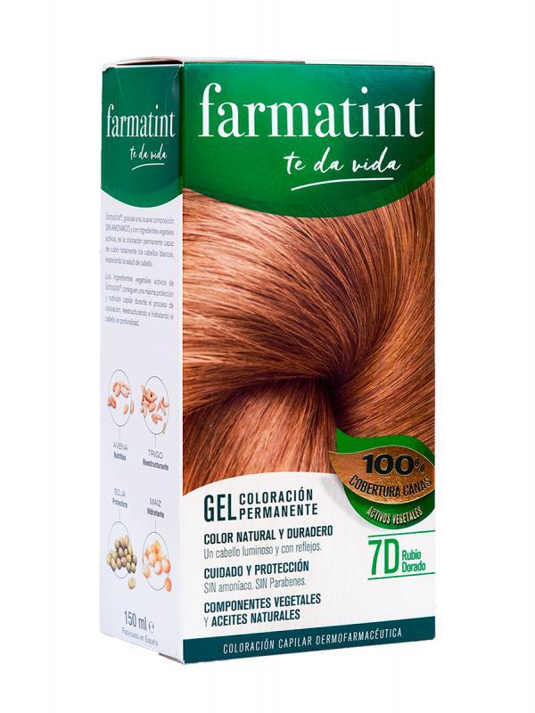 Farmatint 7d 135 ml rubio dorado