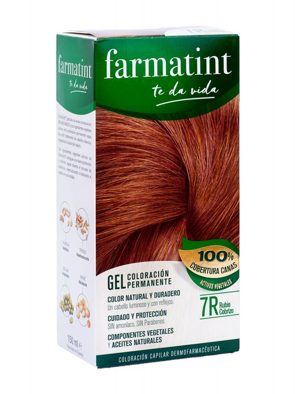 Farmatint 7r 135 ml rubio cobrizo