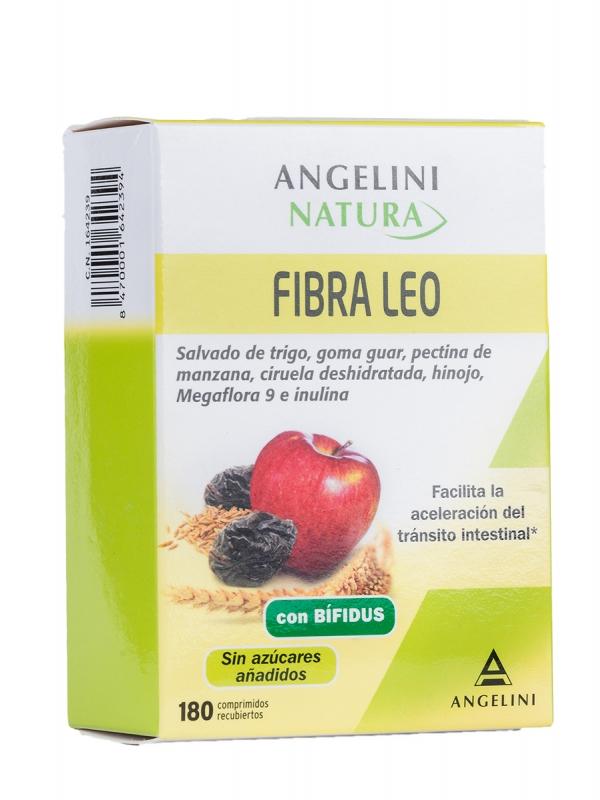 Angelini fibra leo probióticos y prebióticos 180 comprimidos