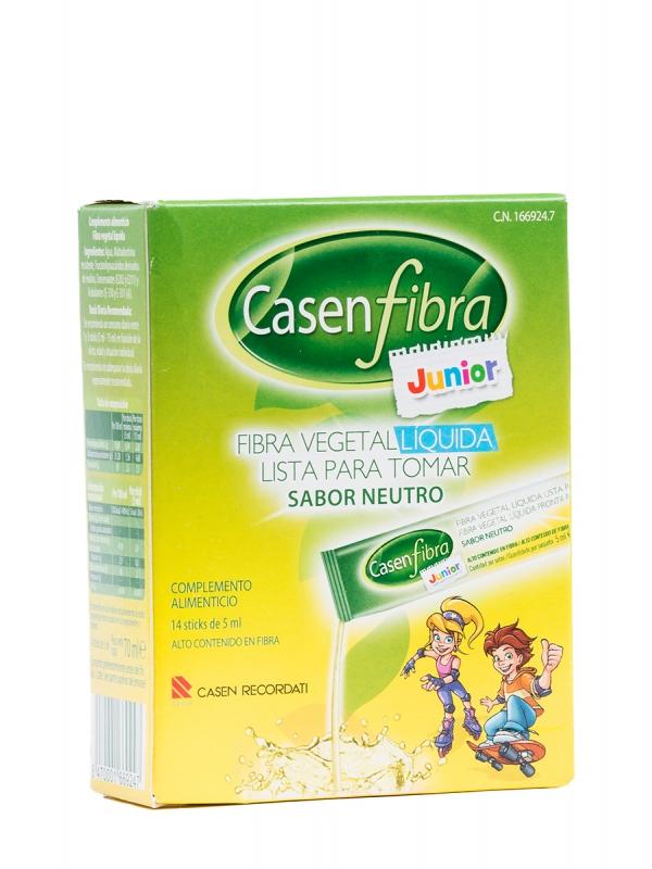 Casenfibra junior fibra vegetal líquida 14 sobres de 5 ml.