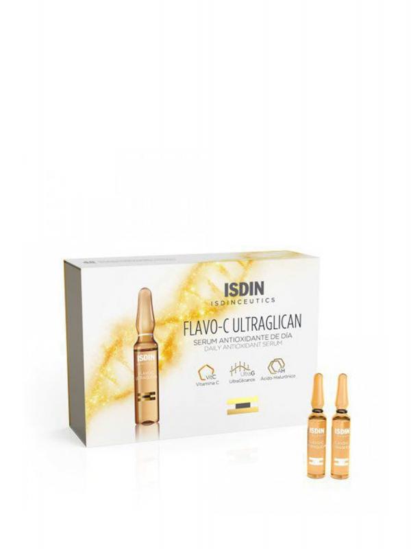 Isdin isdinceutics flavo-c ultraglican 30 ampollas 2ml