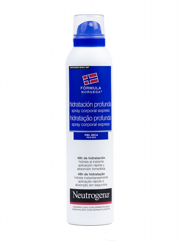 Neutrogena hidratación profunda express spray corporal 200 ml