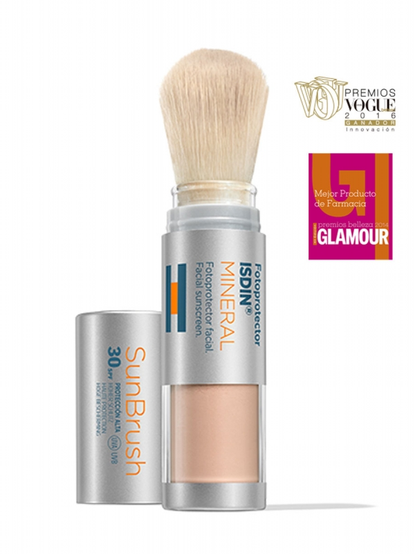 Fotoprotector isdin® sun brush mineral spf 30+