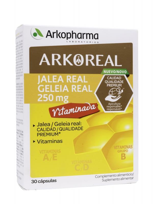 Arkopharma arkoreal jalea real vitaminada 30 cápsulas