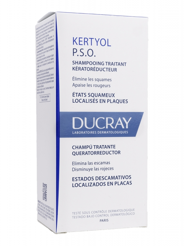 Kertyol-pso champú 125 ml ducray