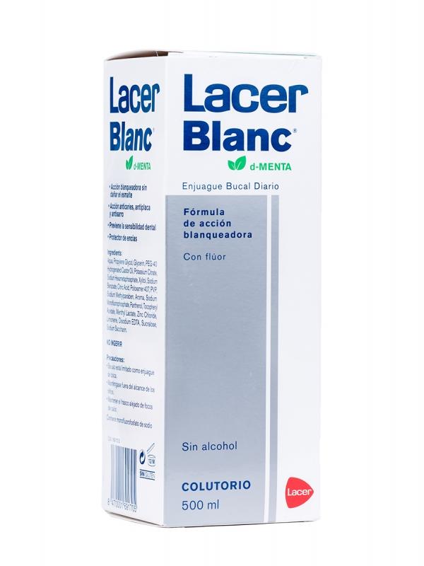 Lacer lacerblanc colutorio d-menta 500 ml