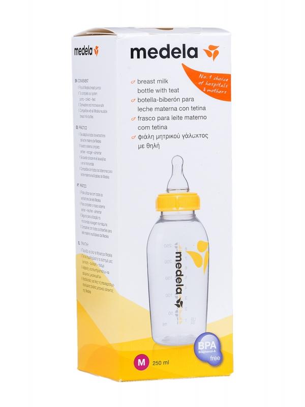 Medela biberon botella con tetina 250 ml
