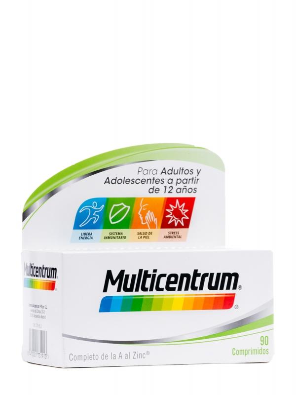 Multicentrum complemento alimenticio 90 comprimidos