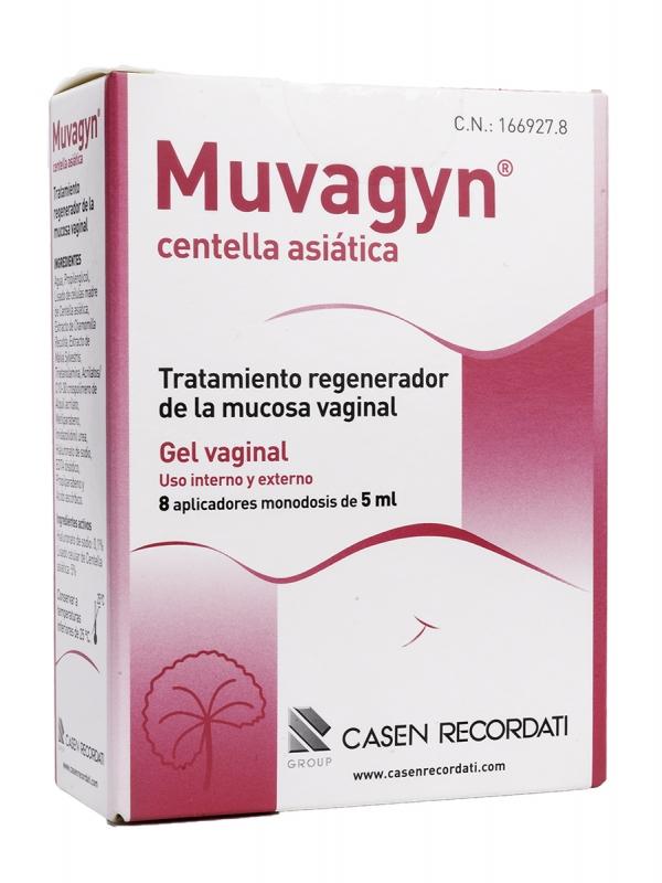 Muvagyn centella asiática monodosis 5 ml 8 aplicaciones