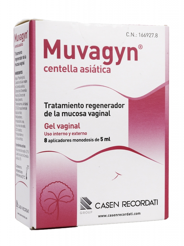 Muvagyn centella asiática 8 monodosis 5 ml
