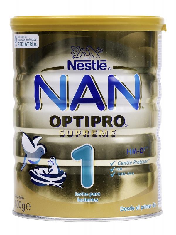 Nan optipro suprem 1 leche de inicio 800 gr