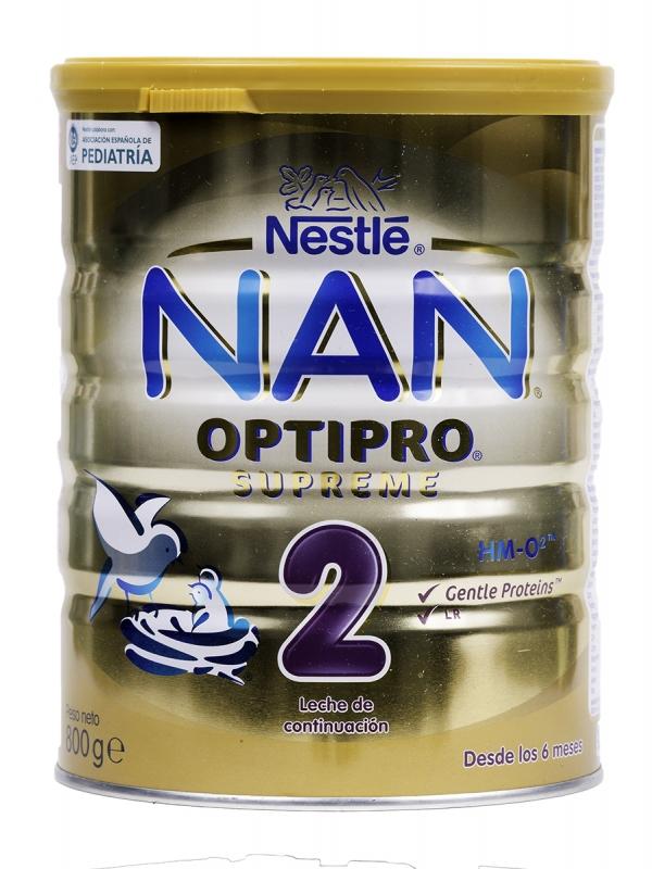 Nan optipro supreme 2 leche de continuación 800 gr