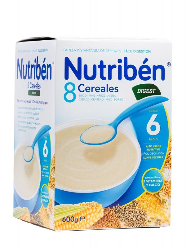 Nutriben 8 cereales bifidus 600gr