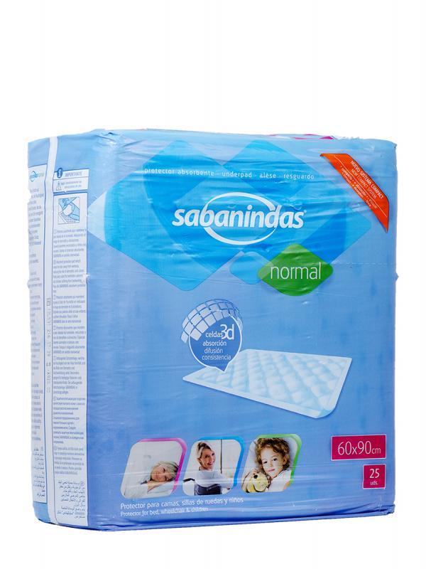 Protector de cama sabanindas 60 x 90 25 unidades