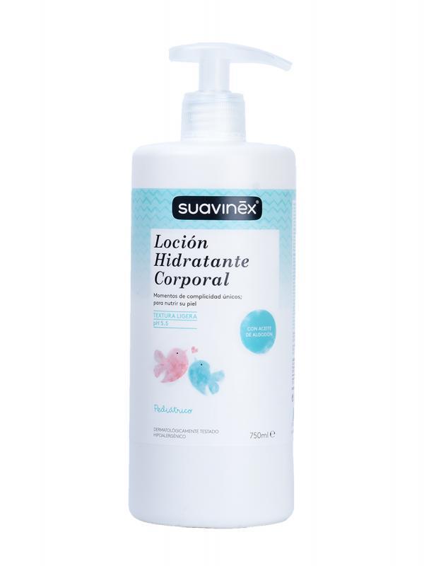 Suavinex locion hidratante masaje 750ml