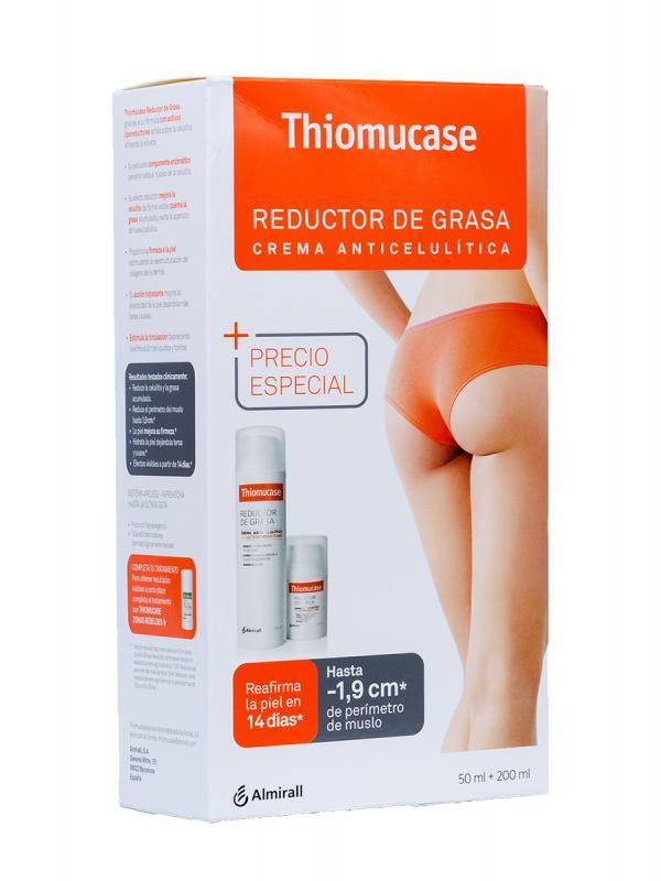 Thiomucase crema anticelulitica  200+50 ml