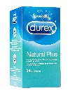 Durex natural plus easy on 24 preservativos